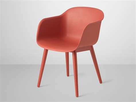 Wooden Chair Designs by Buy The Muuto Fiber Armchair Wood Base At Nest Co Uk