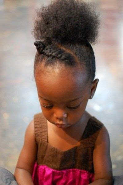 afro hairstyles for toddlers afro puff kid hair and updo on pinterest