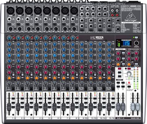 Mixer Behringer Sound System behringer what is the difference between a 4 and a 4