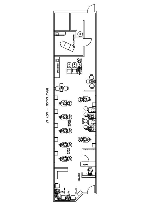 beauty salon floor plan design layout 870 square foot beauty salon floor plan design layout 1274 square foot