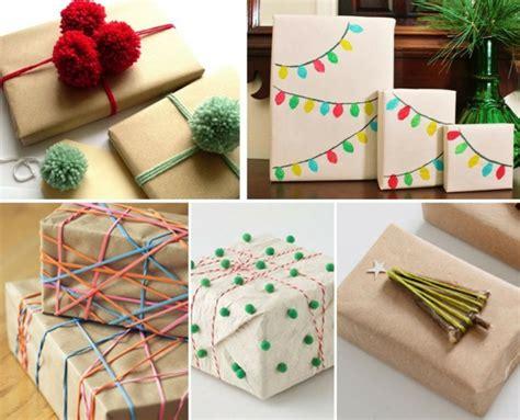 weihnachtsgeschenke einpacken 109 weihnachtliche ideen zum geschenke verpacken