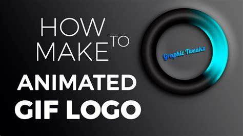 make my logo animated photoshop tutorial animated logo design gif