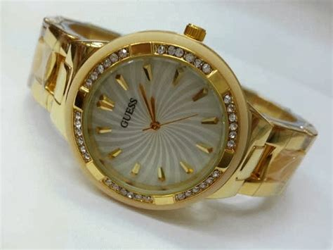 Jam Tangan Guess Kombinasigold New For jam tangan guess 8030 gold