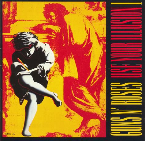 Cd Guns N Roses Use Your Illusion Guns N Roses Use Your Illusions I Ii Album Cover Is