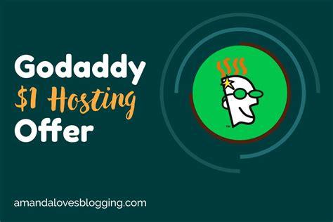 godaddy  hosting   domain  monthly hosting