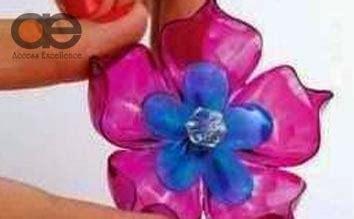 Bros Bunga Plastik Yuk Membuat Bros Bunga Dari Bahan Plastik Bekas