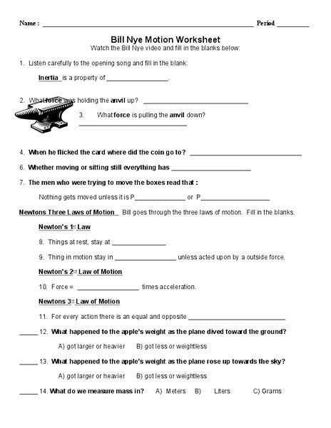 bill nye storms worksheet bill nye measurement worksheet photos toribeedesign