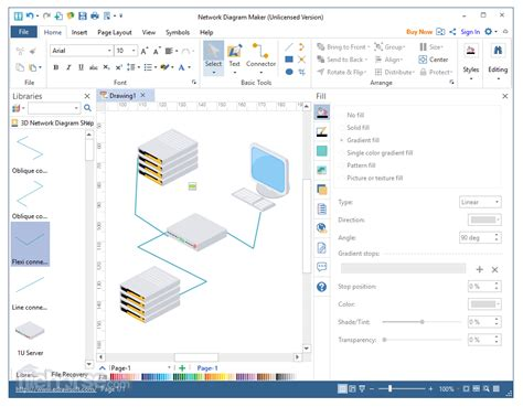 network diagram builder network diagram maker 8 7 5 for windows