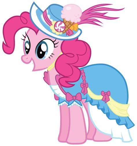 Lil Poni Blue Dress image pinkie pie in a coronation dress with a hat png my pony fan labor wiki fandom