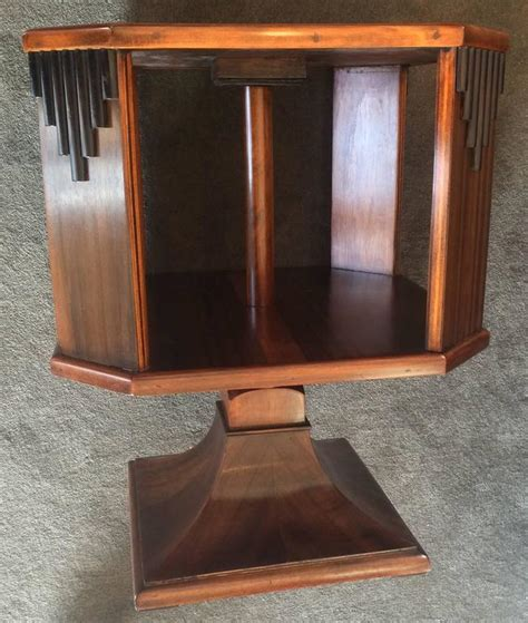 small table top bookcase deco small table top revolving bookcase at 1stdibs