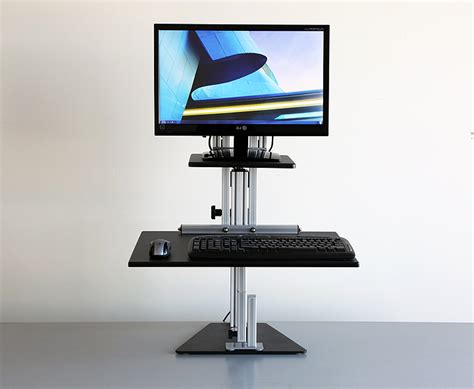 computer stands for desk rolling desktop computer stand review and photo