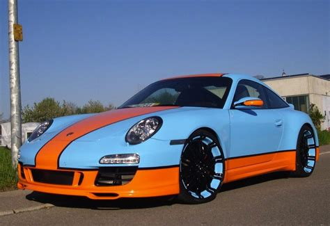 gulf racing gulf racing 997 porsche 911 goes for the retro look
