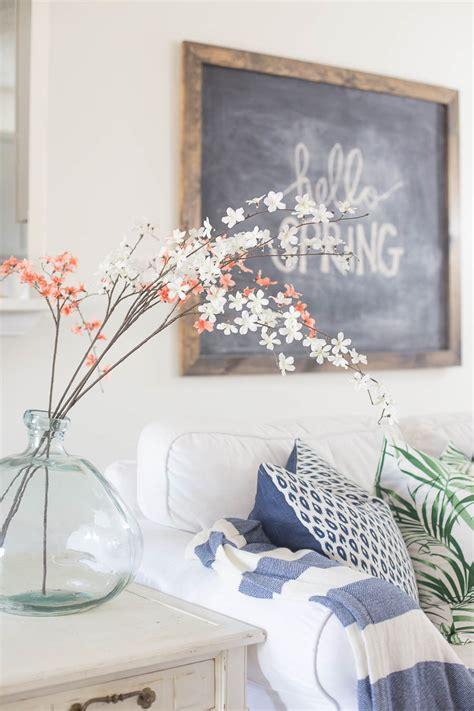 living room spring decorating inspiration  ideas
