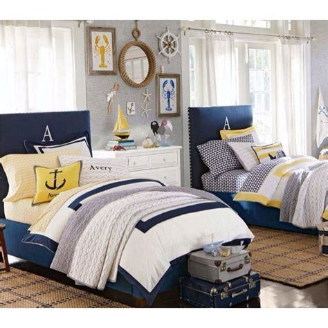 pottery barn boys room pottery barn i like the navy and yellow for the boys room what boys are made of