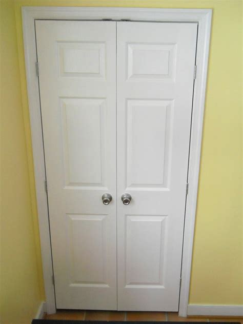 Replacing Bifold Closet Doors With Double Doors Amazing Replace Closet Door