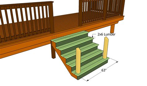 Building A Handrail For Deck Stairs How To Build A Porch Stair Railing Howtospecialist How