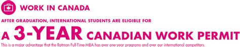 Advantages Of Mba In Canada by Working In Canada Rotman School Of Management