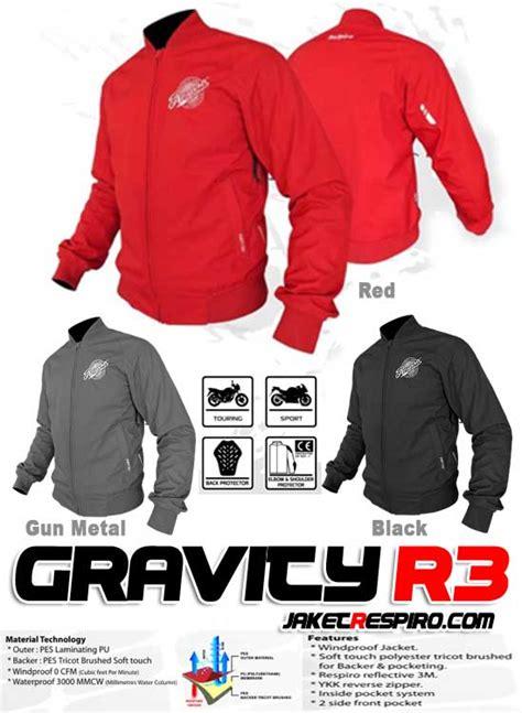 Jaket Respiro Gravity R3 unik bergaya ala jaket touring respiro gravity r3 jaket motor respiro jaket anti angin