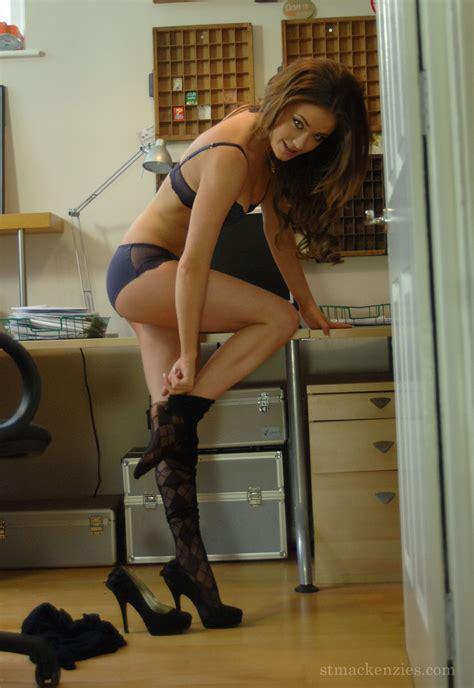 Hot Secretary Hot Secretary In Pantyhose Of St Mackenzies Institute Of Learning