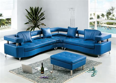 blue modern sectional sofa teal leather sectional sofa hereo sofa