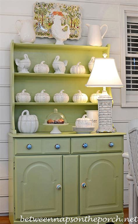 How To Decorate A Hutch decorations for a porch hutch