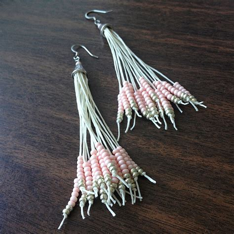 how to make a beaded tassel 15 diy seed bead earring patterns guide patterns