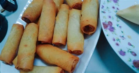 sarapan popia sayur  karipap segera koleksi kisah resepi