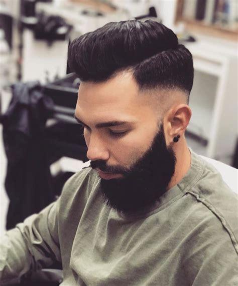 hairstyles high fade with beard high fade hairstyle with beard 2018 haircuts