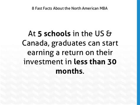 Top 20 Mba Programs In Canada by Slideshow 8 Fast Facts About American Mba Programs