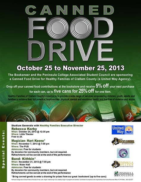 can food drive flyer template canned food drive flyer template www imgkid the