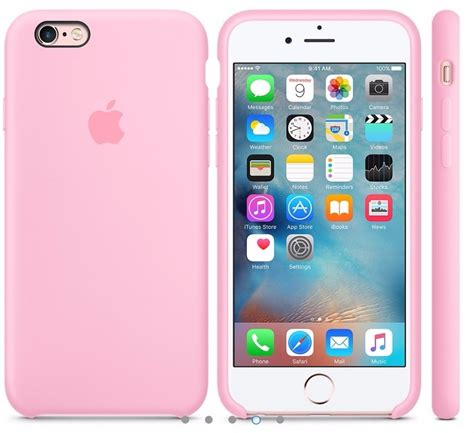e iphone 6 capa silicone premium apple iphone 6 e 6s rosa r 29 99 em mercado livre