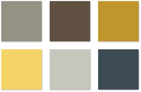 gray and yellow color schemes color challenge brown grey yellow and gray