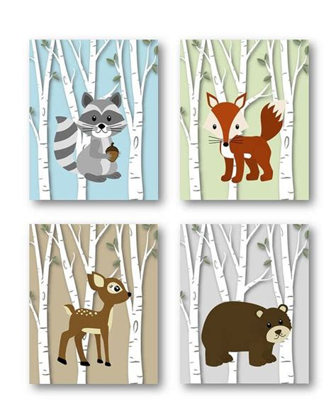Woodland Creatures Nursery Decor Best 25 Woodland Animal Nursery Ideas On Pinterest Baby Animal Nursery Animal Theme Nursery