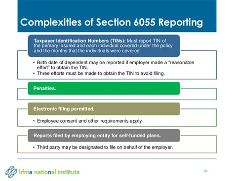 section 6055 and 6056 healthcare industry tax update 2014