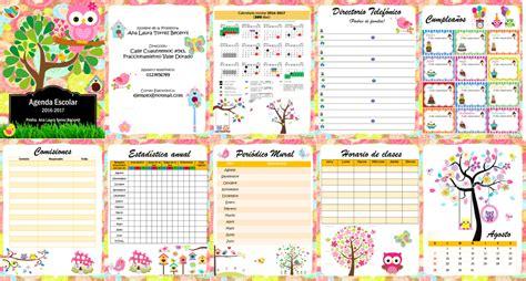 agenda escolar 2017 18 maria 8408172328 l nuevaabuhos educaci 243 n primaria