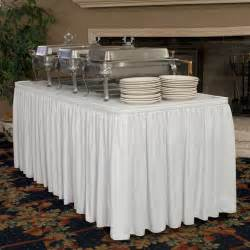 Buffet Table Cloth Wrinkle Free Table Skirting Traditional Tablecloths