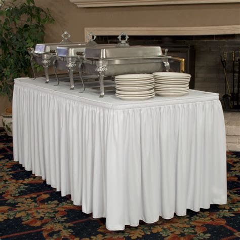 wrinkle free table skirting traditional tablecloths