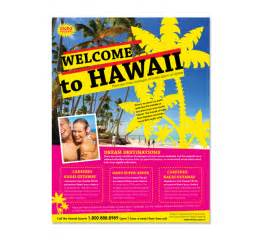 free travel flyer templates hawaii travel agency flyer template dlayouts graphic