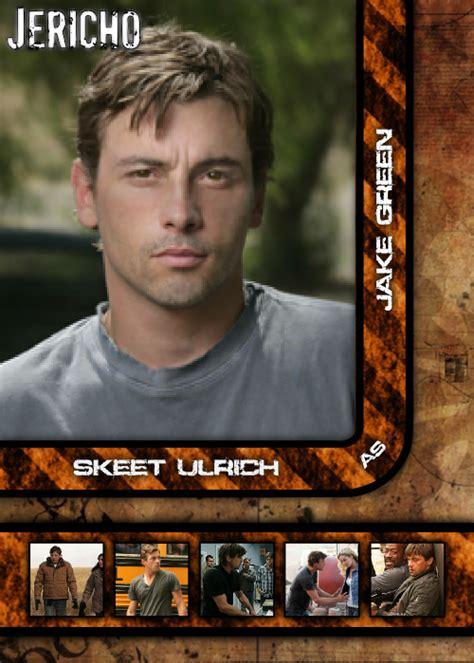 jericho season one autograph card skeet ulrich as jake green a1 ebay card boarded cardboard creations jericho