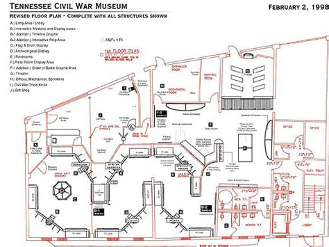 Museum Exhibition Layout Software | tennessee civil war museum on behance