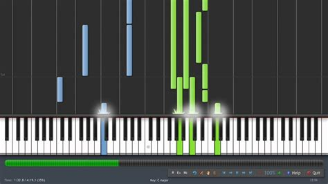 tutorial piano beatles the beatles let it be piano chords chordify