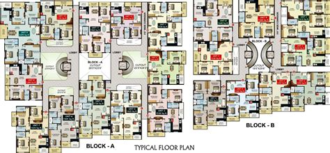 The Inspira Floor Plan by The Inspira Floor Plan 2062 Sq Ft 3 Bhk 4t Apartment For