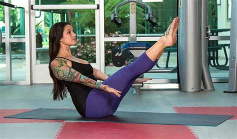 dynamic boat pose how to incorporate yoga into your training sessions