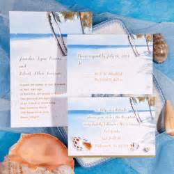 Seal and send beach wedding invitations to set the tone for your beach