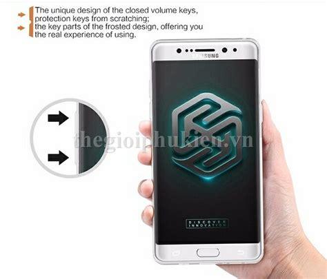 Samsung Galaxy Note 7 Fe Nillkin Nature Ori Clear ốp lưng dẻo trong suốt samsung galaxy note fe ch 237 nh h 227 ng