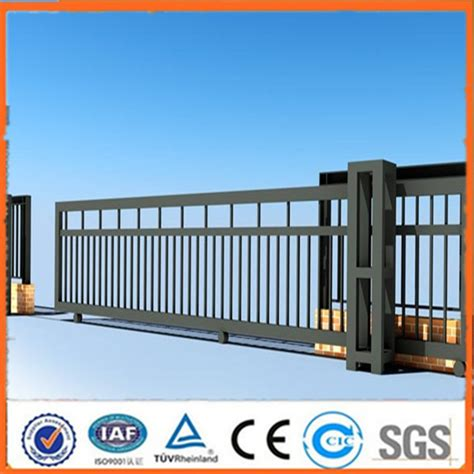 home gate design 2016 2016 hot sale steel main gate design sliding gate design simple sliding gate design