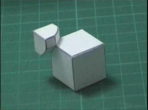 origami rubix cube dror s paper cube