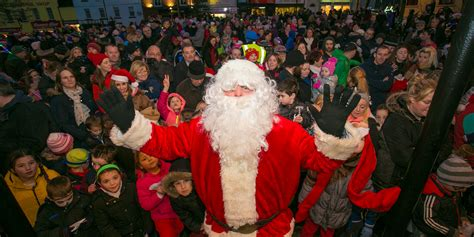 images of christmas festival santa joins the arklow christmas festival wicklownews