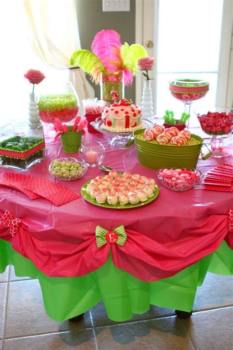 baby shower table set up baby shower pinterest baby shower table for a baby girl set up baby pinterest