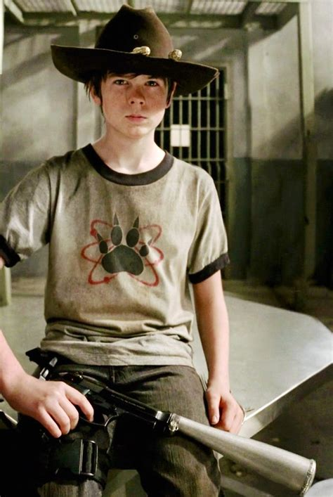 The Walking Dead Carl Grimes Poncho 1000 images about chandler riggs on chandler riggs carl grimes and the walking dead